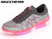 Skechers ABILITY 14011-GYHP grey  hot pink Textile