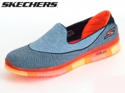 Skechers 14010-NVCL navy, coral Textile