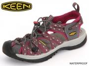 Keen Whisper 1014204 magnet-sangria Leder-Textil