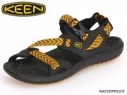 Keen Maupin 1014668 black-golden yellow Textil