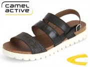 camel active Sicillia 822-75-04 black Velvet Cow Bast