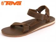 Teva Premium Leather 8790-607 dark earth premium leather