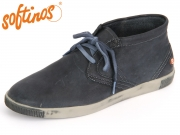 Softinos Tim P900187518 navy Washed Leather