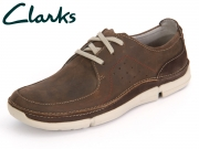Clarks Trikeyon Fly 26115201 brown Leather