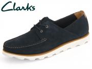 Clarks Dakin Boat 26114319 navy Suede