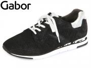 Gabor 44.320.87 schwarz-ice Cobra Nubuk-Caruso