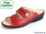 Finn Comfort Mira-S 82582-901238 red-flamme Venezia-Knautschlack