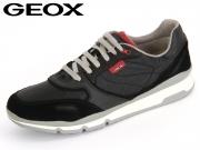 Geox U52A6A 022FU C9999 black Suede Nylon