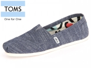 TOMS Classic 10007711 chambray Canvas