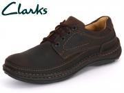 Clarks Nature Three 203406827 ebony Oily