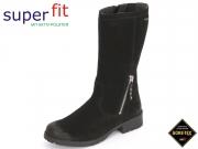 SuperFit Heel 7-00184-02 schwarz kombi Velour