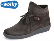 Wolky Pharos 8127421 antracite Grig Suede