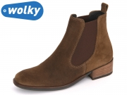 Wolky Masala 4512431 brown Oiled suede