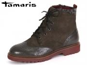 Tamaris 1-25255-27-234 anthracite Leder Textil Synthetik
