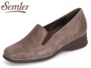 Semler Ria R1645-031-030 fango Metall Velour