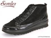 Semler Isabelle I7503-351-1001 schwarz Kalblack Samtchevrau