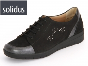 Solidus Kyra 101 30101-00292 schwarz Perlcalf-Nabuk Sport