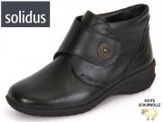 Solidus Karo 016 42016-00701 schwarz black Vitello Perllack