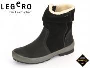 Legero TARO 7-00604-03 schwarz multi Velour Nubuk Gore