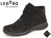 Legero 5-00574-00 schwarz Velour  Gore