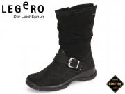 Legero TREKKING 7-00544-02 schwarz Velour Gore