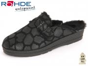Rohde 2288-90 schwarz Velourleder