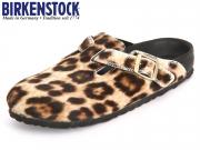 Birkenstock Boston 1000141 snow leopard Exquisit
