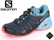 Salomon Speedcross Vario GTX L39054400 slateblue-Blue Gum-Coral Punch