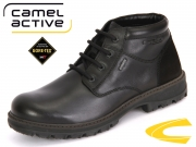 camel active Scandinavian GTX 364.14-01 black Soft Pull Up Suede GTX