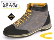 camel active Slalom GTX 854.71-01 ash black Oil Suede kombi GTX