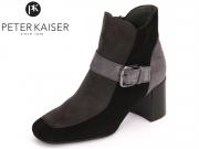 Peter Kaiser Parigi 94661-727 schwarz carbon fumo Suede
