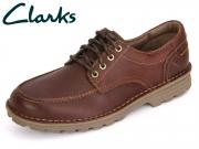 Clarks Sawtel Ridge 261202017 brown Leather