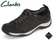 Clarks BaystoneLo GTX 261192867 black Nubuk