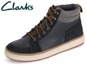 Clarks Lorsen Top 261098317 navy Leather
