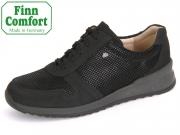 Finn Comfort Sidonia 02364-901376 schwarz Nubuk Points