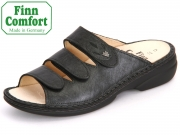 Finn Comfort Kos 02554-901521 blackargento schwarz Luxory Nappaseda