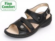 Finn Comfort Gomera 02562-345099 schwarz Plisseelight