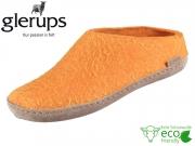 glerups dk Open Heel B-22-00 orange Lammwollfilz