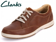 Clarks Stafford Park 5 203585937 tan Leather