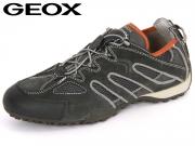 Geox Uomo Snake J U4207J-02214-C0671 dark grey grey Scam Mesh DK