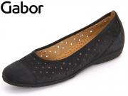 Gabor 64.169-16 nightblue Nubuk Lavato