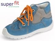 SuperFit Softtippo 0-00322-94 denim kombi Velour-Textil