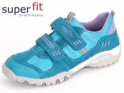 SuperFit Sport4 0-08224-90 türkis Velour Textil