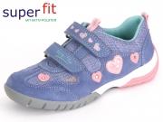 SuperFit Sport3 0-00135-77 lila kombi Velour Textil