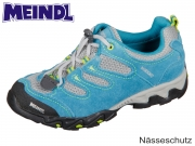 Meindl Tarango Junior 2057-53 petrol lemon Velour Mesh