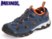 Meindl Rudy Junior 2056-09 blau orange Velourleder