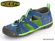 Keen SeacampII CNX 1014443-1014471-1014479 true blue jasmine gree