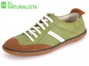 El Naturalista El Viajero N5273 gr Green-Wood Soft Grain-Lux Suede