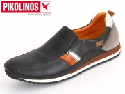 Pikolinos Liverpool M2A-6076 navy blue dark grey Leder
