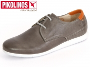 Pikolinos M9F-4119 dark grey nautic Leder